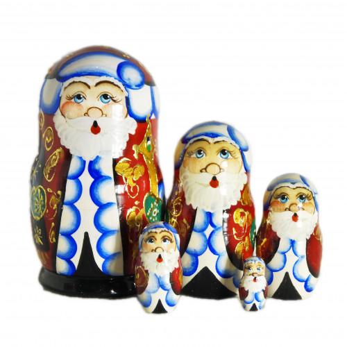 "Матрешка ""Дед Мороз"", 5 мест*"