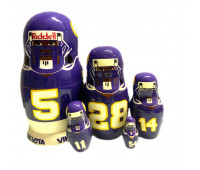 "Матрешка ""Minnesota Vikings"", 5 мест"