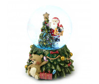 Сноубол с подсветкой Санта