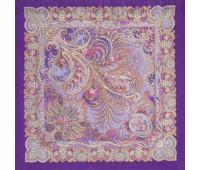 """Wool shawl """"By the blue sea"""""""