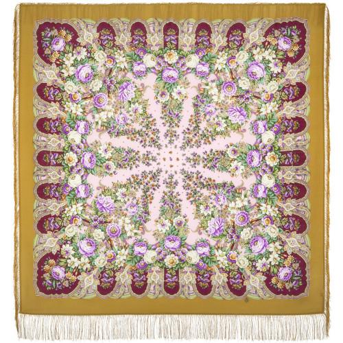 "Wool shawl ""Lukomorye"""