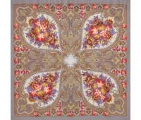 """Wool shawl """"Autumn lace"""""""