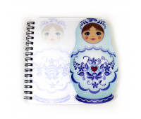 "Notebook ""Matryoshka"""