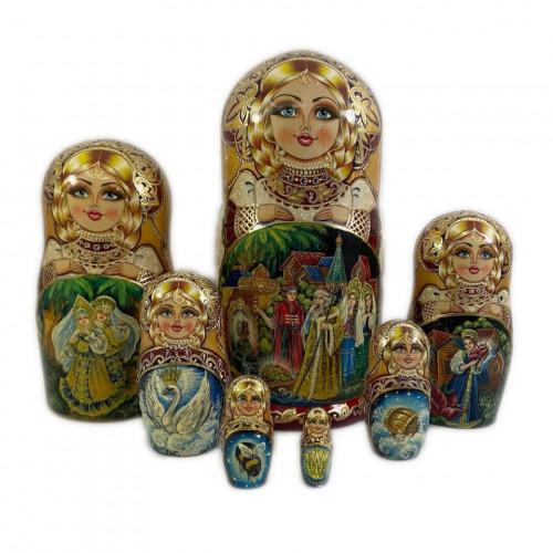 """Матрешка """"Сказка"""", 7 мест"""