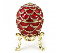 """Egg in Faberge style """"Pine cone"""""""