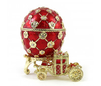 Egg in Faberge style with Carriage