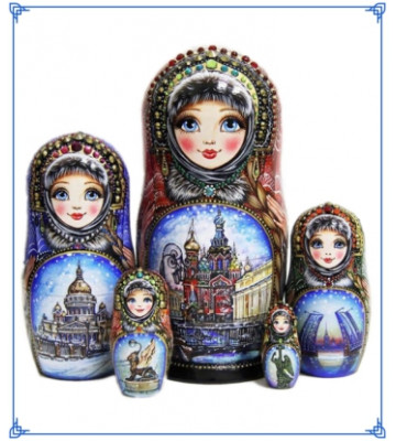 Author's nesting dolls