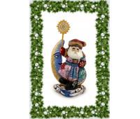 Дед Мороз в советском стиле под елку