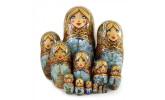 Author's nesting dolls