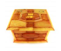 Box (honey, milky amber)