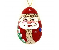 """Wooden Christmas tree ornament """"Father frost"""""""