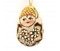 "Wooden Christmas tree toy ""Alenushka"""