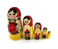 "Matryoshka ""Semenovskaya"", 5 pieces (Nested doll)"