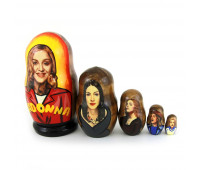 "Matryoshka ""Madonna"", 5 pieces (Russian doll)"