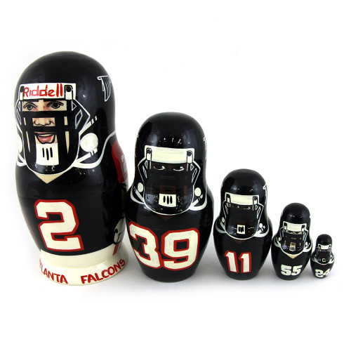 "Матрешка ""Atlanta Falcons"", 5 мест"