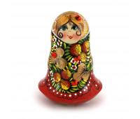 """Tilting doll """"Matryoshka"""", 4.3 inches"""