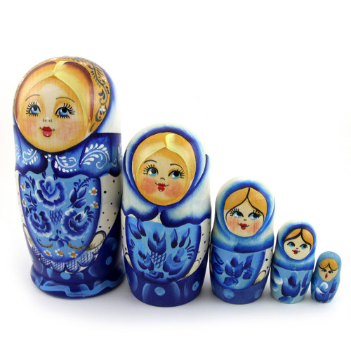 Русская матрешка , 5 мест