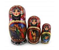 """Matryoshka """"Ballet"""", 3 pieces, 15 cm"""