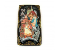 "Lacquer miniature ""Jealous Husband"", Kholuy"