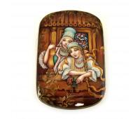 "Lacquer miniature ""Russian Beauty"""