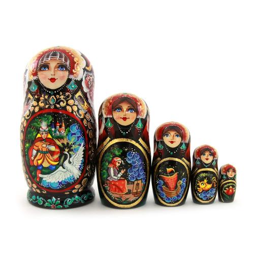 """Матрешка """"Популярные русские сказки"""", 5 мест"""