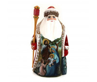 "Wooden Father Frost ""The Birth of Jesus Christ"""