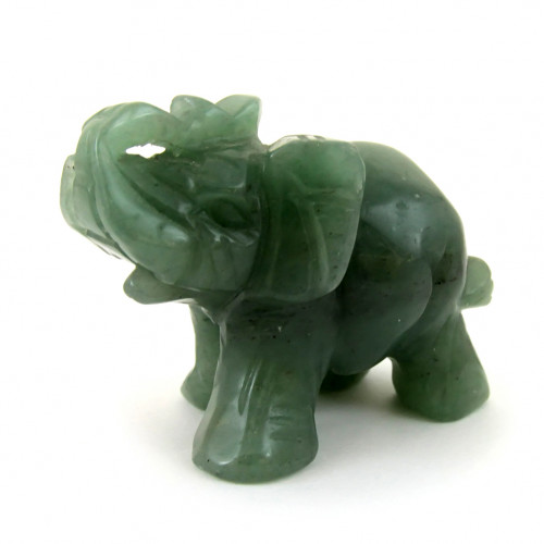 """Нефритовая фигурка """"Слон"""""""