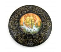 """Lacquer miniature """"Autumn"""", Kholuy"""