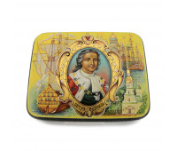 """Lacquer miniature """"Peter the Great"""""""