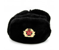 Russian Ushanka military hat