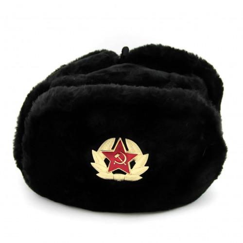 Russian Ushanka military hat