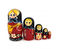 "Matryoshka ""Traditional"", 5 pieces"