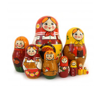 "Matryoshka ""Traditional"", 10 pieces"