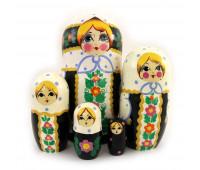 """Матрешка """"Традиционная"""", 5 мест"""