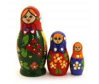 """Матрешка """"Традиционная"""", 3 места"""
