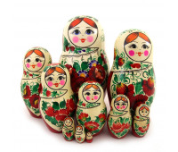 "Matryoshka ""Vyatskaya"", 10 pieces (Nesting doll)"