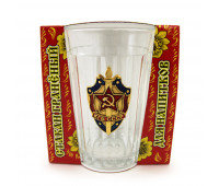 Soviet tea glass