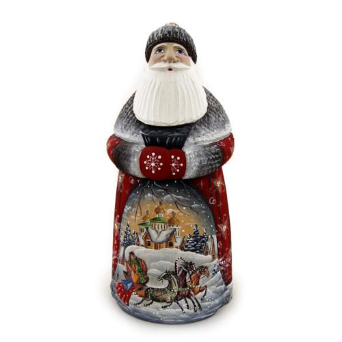 Дед Мороз в советском стиле под елку Тройка