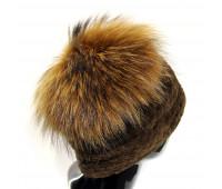 Меховая норковая шапка