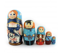 "Russian matryoshka ""Traditional costume"", 5 pieces"
