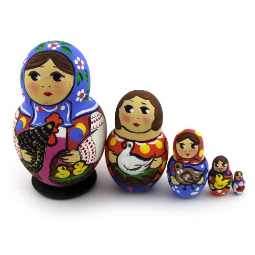 "Русская матрешка ""Традиция"", 5 мест"