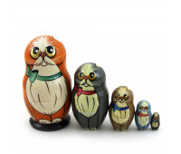 "Russian matryoshka ""Cats"""