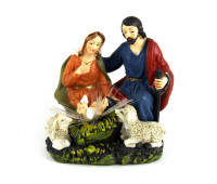 Birth of Christ figurine with lights