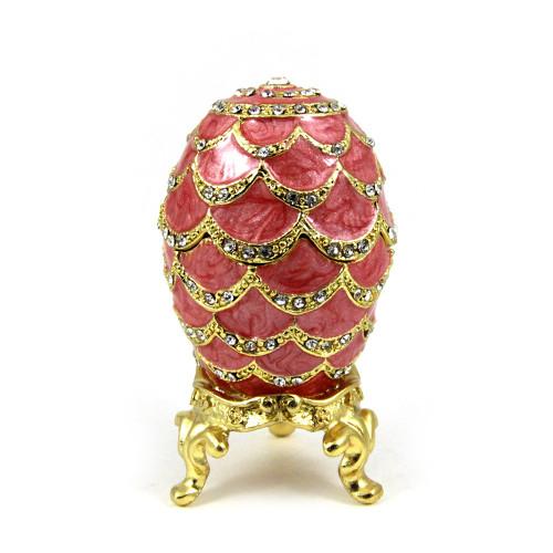 Яйцо шкатулка в стиле Фаберже