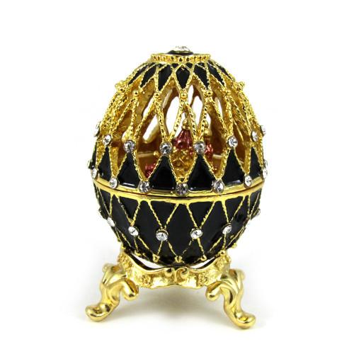 Яйцо-шкатулка в стиле Фаберже