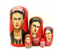 "Matryoshka ""Frida Kahlo"", 5 pieces"