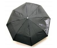 Semi-automatic umbrella