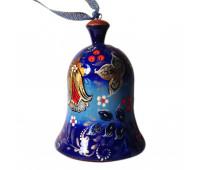 Колокольчик деревянный расписной в русском стиле