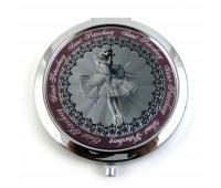 Зеркало Балерина металл