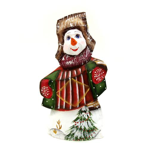 Снеговик в Русском стиле под елку